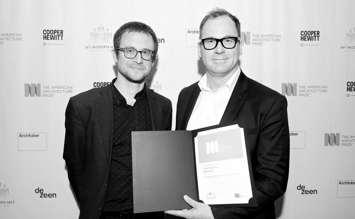 Prix et mentions - ACDF Architecture
